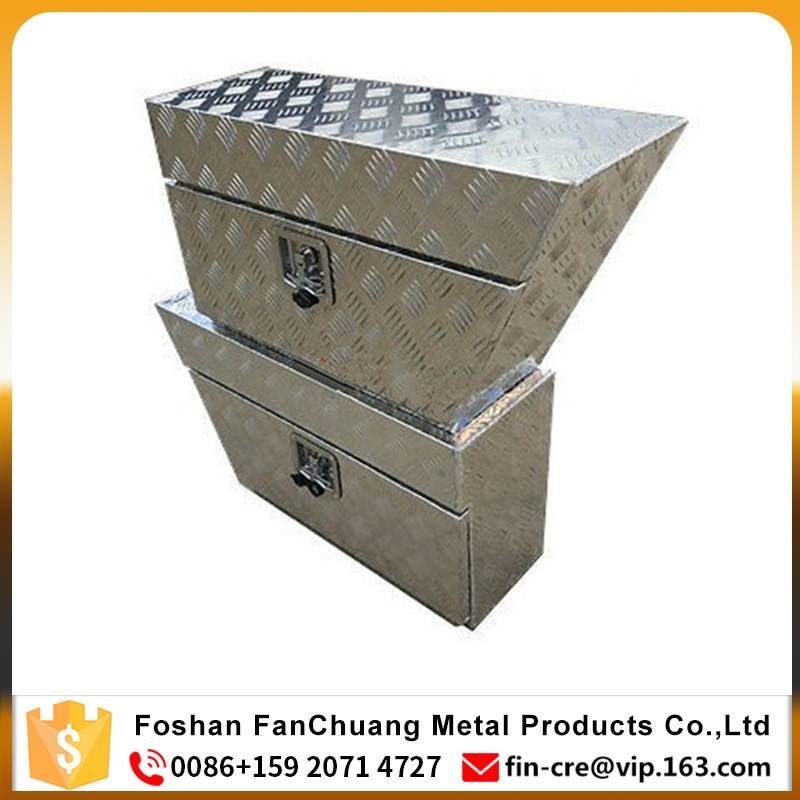 Aluminum underbody truck tool boxes,underbed tool boxes,aluminum Ute Trailer under tray trade tool Boxes