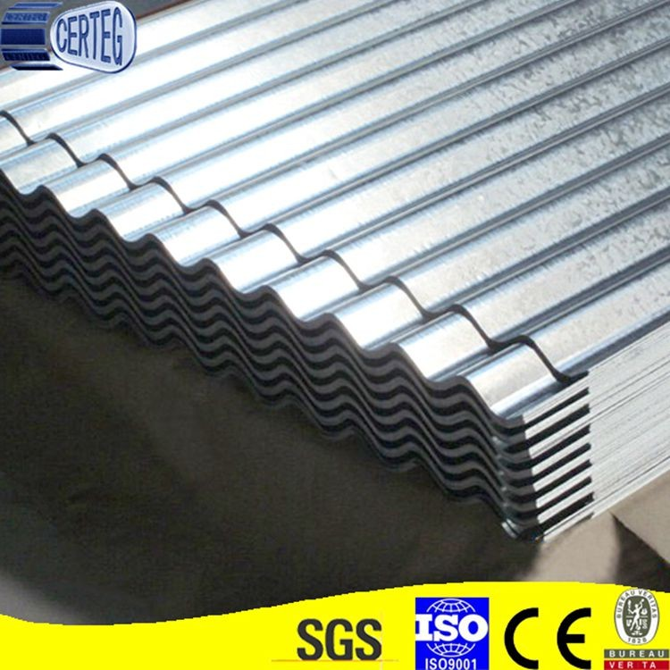 2.5mm 3.0mm Price Of Zinc Coated Galvanized Corrugated Metal Roof Sheet