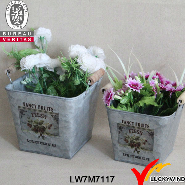 Galvanized Metal Garden Planter,metal Garden Planter, View Metal Planters,  Luckywind Product Details From Luckywind Handicrafts Company Ltd. Fuzhou On  ...