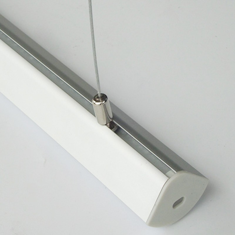 Extruded Aluminum Profiles For Led Hanging Ceiling Lights