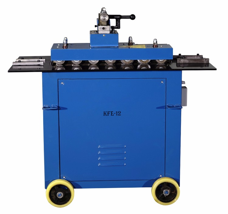 Pittsburgh HVAC Lock Single Hem Forming Machine For Sheet Metal