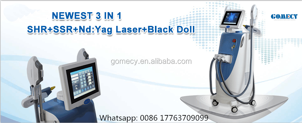 GOMECY Professional 4 in 1 Opt Shr IPL ND YAG Laser RF Hair Removal & Skin Rejuvenation Multifuctional Beauty Machine.png
