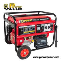 Power Value 220v 12 v electric generator with gasoline fuel for sale