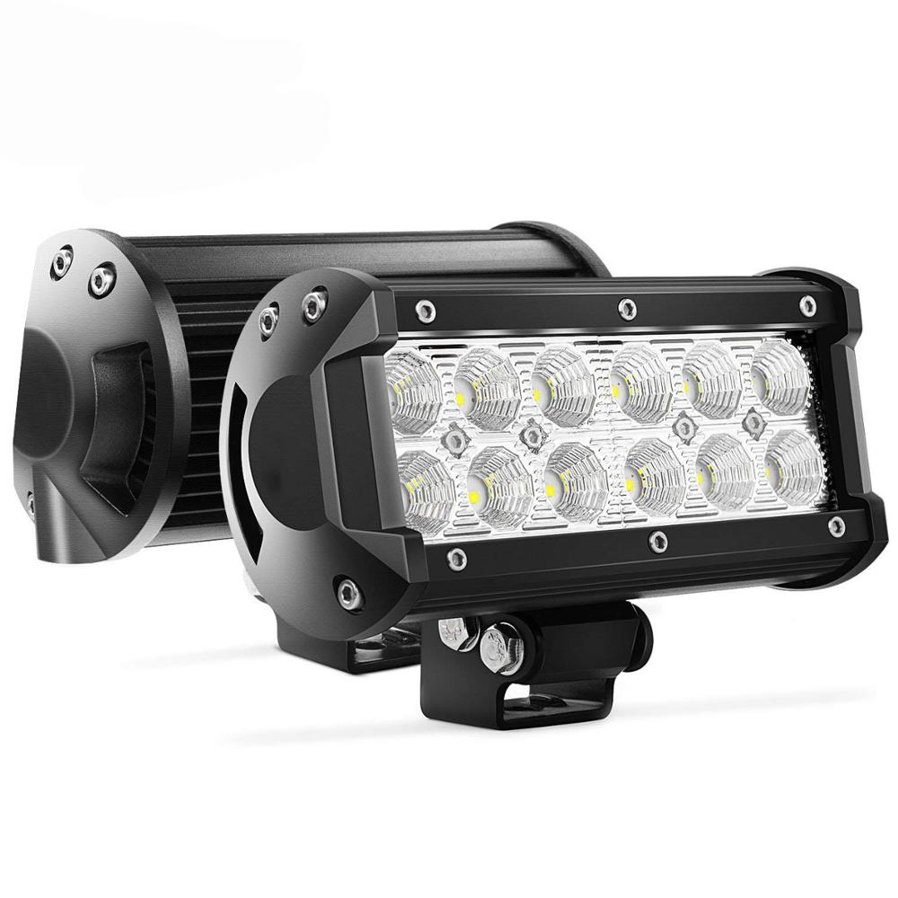 China Auto Lighting System 7 Zoll 36w LED Lichtleiste für Vision Inspection System