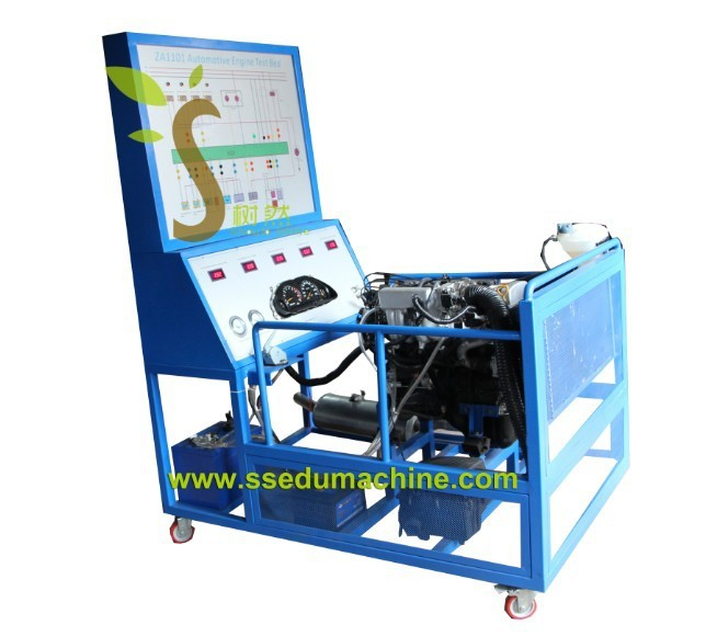 Electronic Controlled Engine Test Bench Didactic Equipment Didactique Materiels Demo Model Educational Training Car Trainer