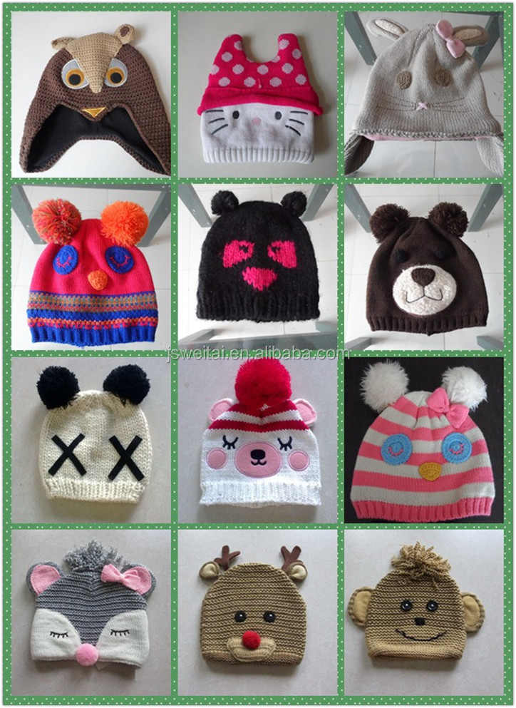 Invierno Casco Mickey Mouse Animal Sombrero Para El Bebé - Buy ...