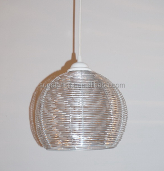Modern aluminum wire birdcage pendant lamplight loft hanging lamp modern aluminum wire birdcage pendant lamplight loft hanging lamp aloadofball Image collections