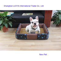 Top level wholesale newest warm sponge dog sleep bed memory foam large oxford dog bed