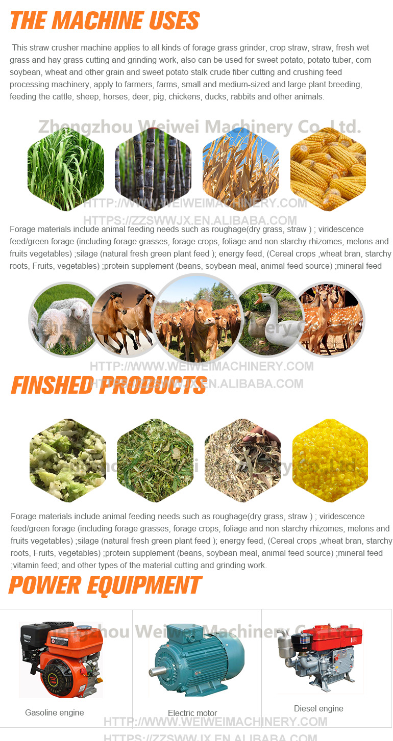 Animal fodder making machine