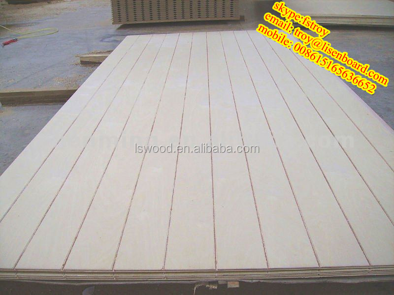 Tongue And Groove Plywood Slotted Plywood Plywood Grooved