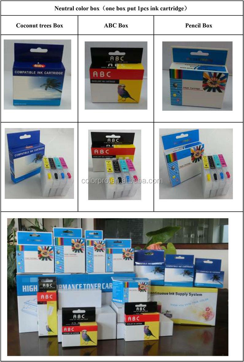 Colorpro refillable מחסנית T9451 T9452 T9453 T9454 עבור Pro WF-C5290 C5790 מדפסת מחסניות t945 t94
