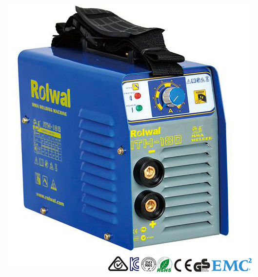 Rolwal ราคาถูก MMA/ARC 200Amp VRD Hot start Anti stick Arc force IGBT DC Soldadoras Maquina de Solda 110 /220 V