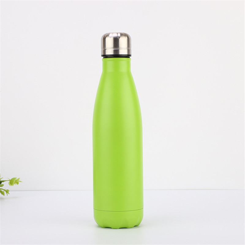 500 ml Customized Promotional Stainless Steel Cola Water Bottle Vacuum Flask For Outdoor