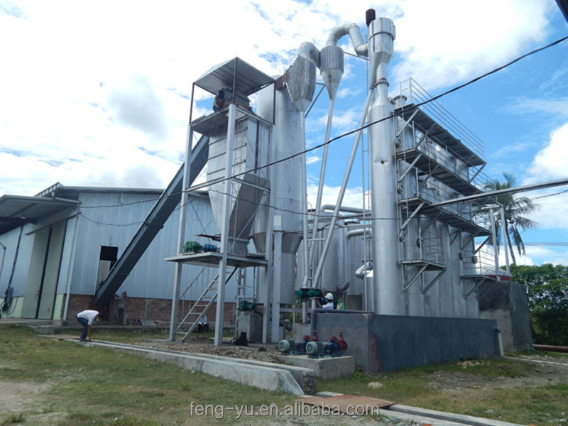Fengyu 500KW corn straw biomass gasification power plant in Indonesia