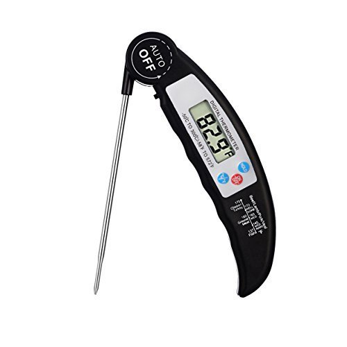 Digital Instant Read Meat Thermometer Food Thermometer with Probe, Jamont Electronic Grill or Kitchen Thermometer for Cooking Brewing Coffee Food Accurate Thermometer and Cooking Thermometer for HVAC