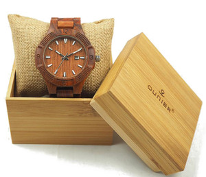 Timepieces for men hot brand wrist watch custom brand wholesale wood watch