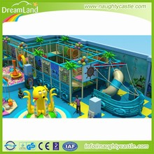 Children Indoor Commercial Playsets Plastic Playground