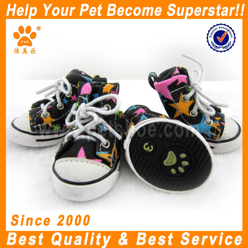 JML pets products suppliers guangzhou dog boots canvas shoes for dogs