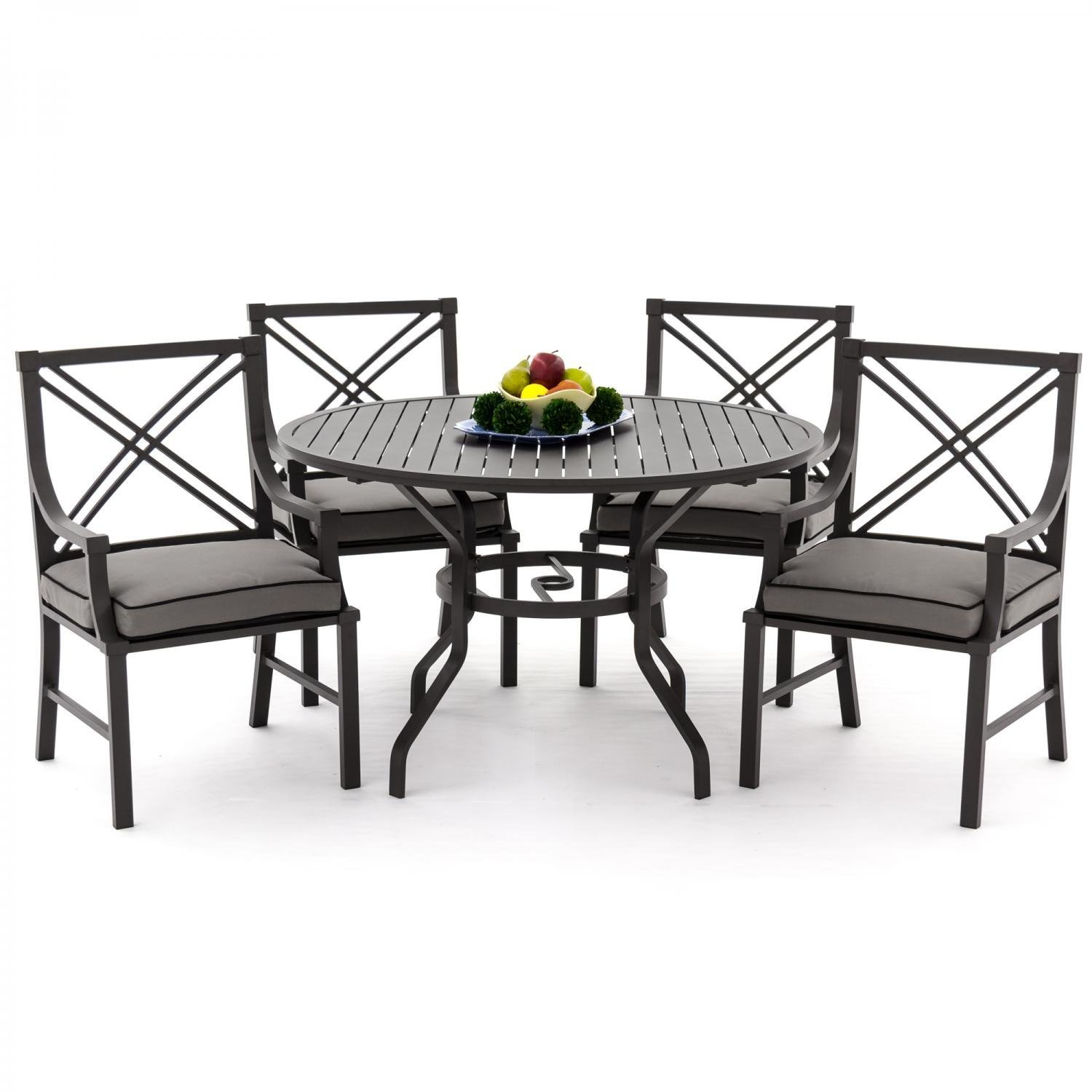 Buy Lakeview Outdoor Designs Audubon 4 Person Aluminum Patio Dining