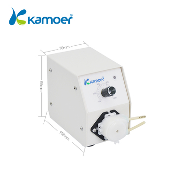 Kamoer micro 12V/24V mini liquid peristaltic pump electric motor water dosing pump laboratory liquid transfer