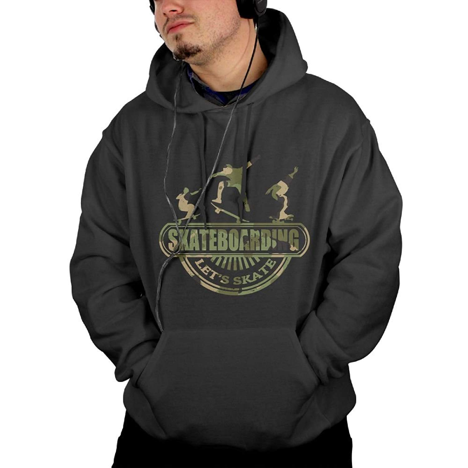 Bstge Mens Stylish Various Printed Style Hoodies