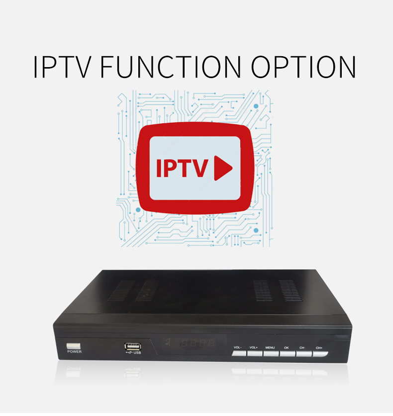 Cheapest IPTV DVB S2 FTA WIFI Remote Control TV 4K Satellite Receiver