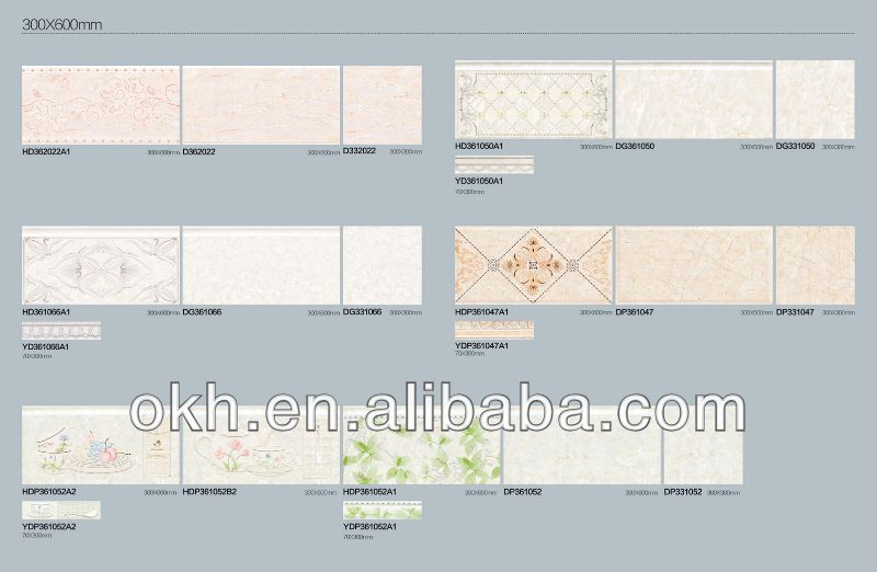 Luxury indian style wall tile