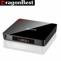 new design X96 Pro Xnano S905X 2G 16G android 6.0 tv satellite receiver box HDD player