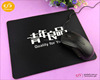 Personalize custom eco-friendly computer rubber mouse pad