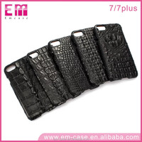 New Arrival Genuine Crocodile Skin alligator leather Mobile Phone Case For iPhone 7