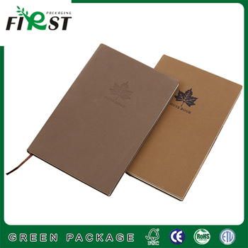Huaben customized PU leather hardcover notebook