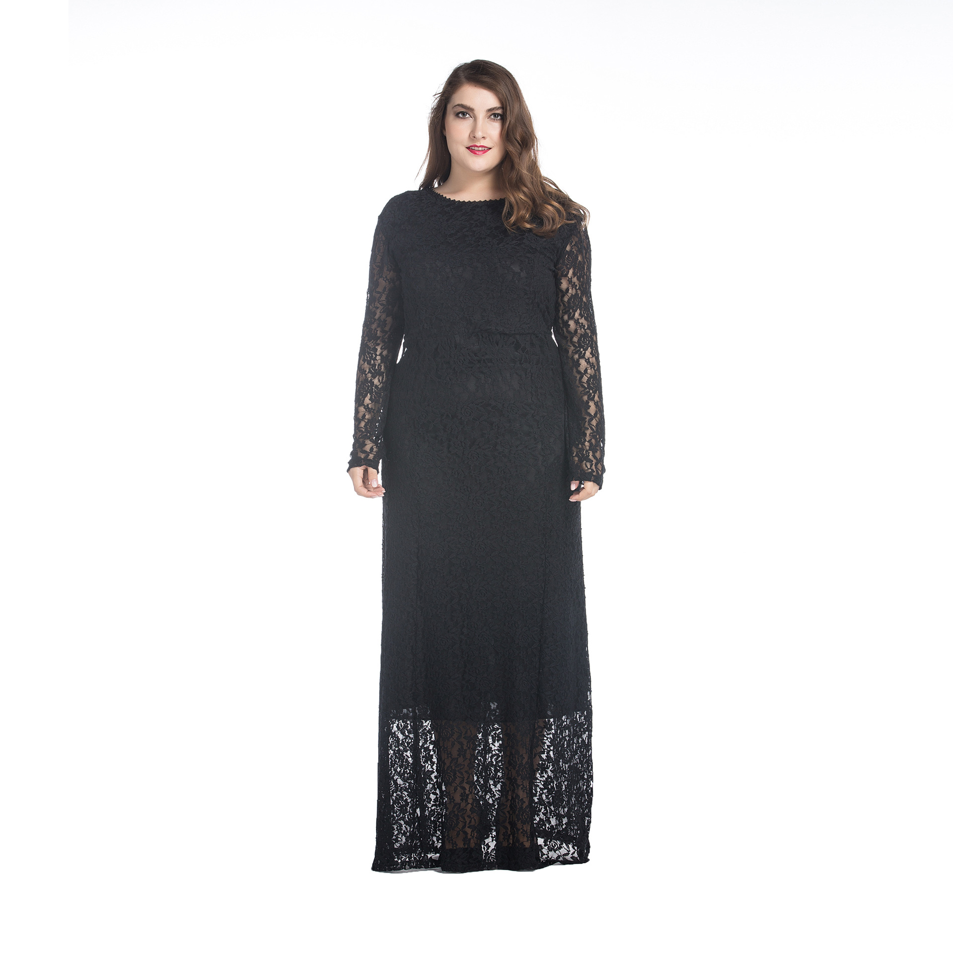 <strong>Lace</strong> Dress for Fat <strong>Women</strong> Plus Size Bandage Black <strong>Lace</strong> Office <strong>Women</strong> Party Dress Ladies Sexy Maxi <strong>Clothing</strong>