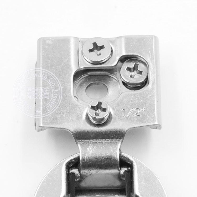 "1/2"" overlay hinge | one half compact hinge | a half compact hinge"