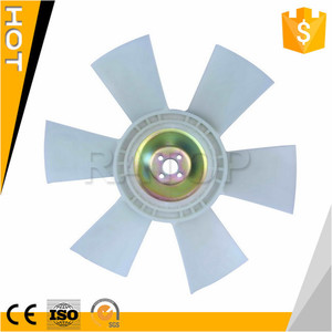 High Quality Custom Excavator EX200-5 6BG1 Engine Cooling Industrial Plastic Fan Blade Price