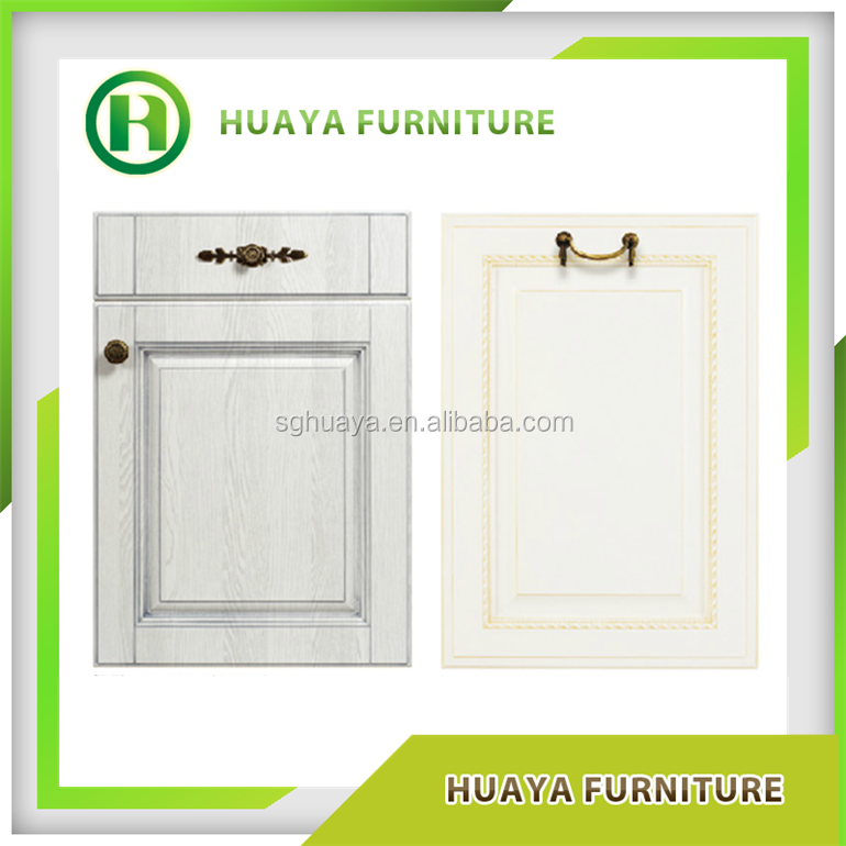 PVC kitchen cabinet door/house decorative interior door