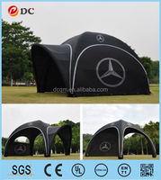 Pop up beach tent 6x6m warter proof tentage for sand beach games and sports