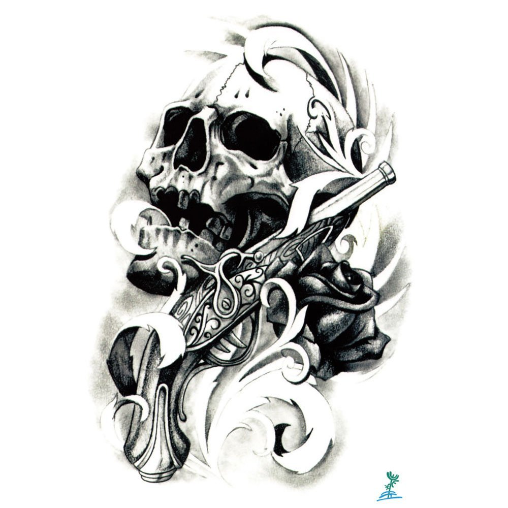 Cheap Skull And Rose Tattoo Design Find Skull And Rose