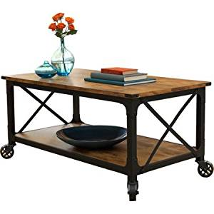 Better Homes And Gardens Rustic Country Coffee Table Antiqued Black Pine Finish