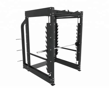 Pulead Fitness Equipment Best Price Power Rack Squat Rack Strength Training Fitness 3d Smith Machine