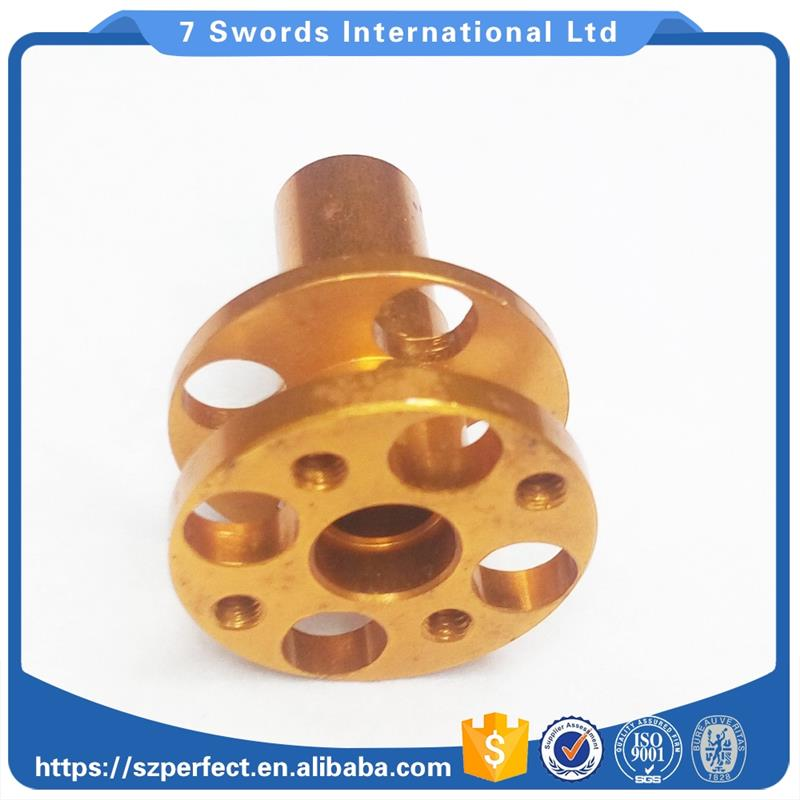natural anodized aluminum Milling Parts Lathe parts small metal parts