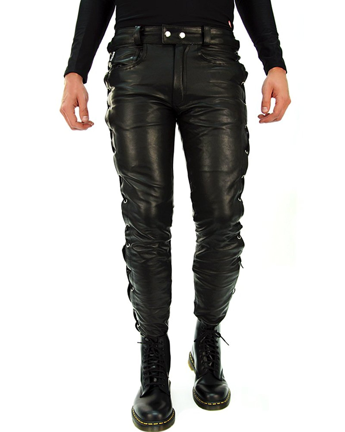 provide plenty of good selling most fashionable Cheap Lace Up Front Leather Pants, find Lace Up Front ...