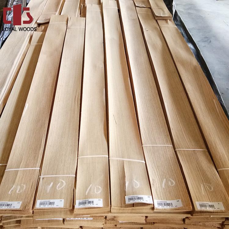 Factory Sell Fsc Interior Door Skin Natural White Oak Wood Veneer