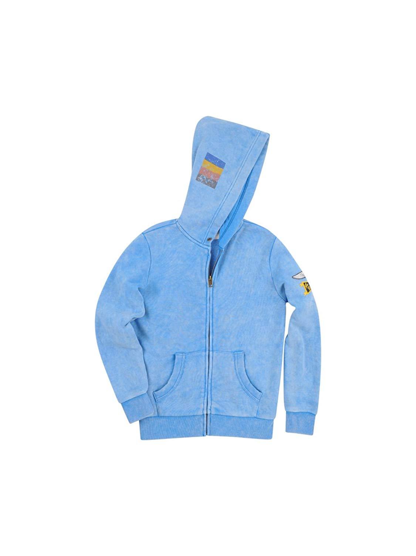 9ce4f41a4 BUTTER SUPER SOFT Boy's Mineral Wash Fleece Zip Kangaroo Pockets Hoodie  Sweatshirt