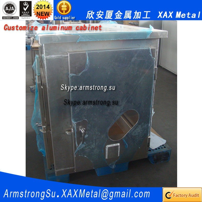 XAX881Alu OEM ODM customized plc electric controlling for cng refueling station aluminum panel cabinet