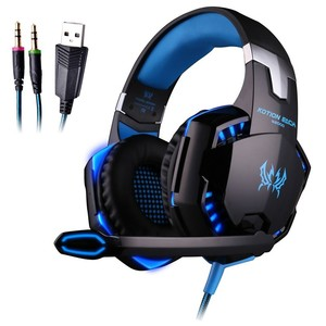Kotion Each LED Cool Colorful Gaming Headset G2000 Blue