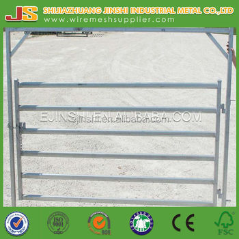 welded cattle livestock metal fence panels for cattle