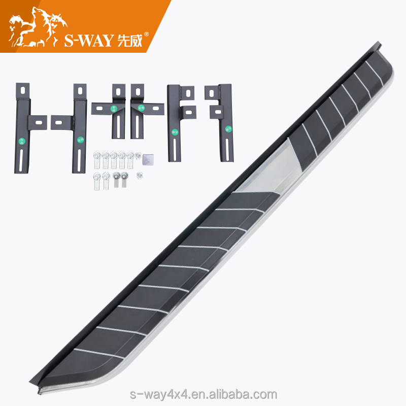 Manufacturer of best quality side step for discovery 4 running boards 4x4 accessories