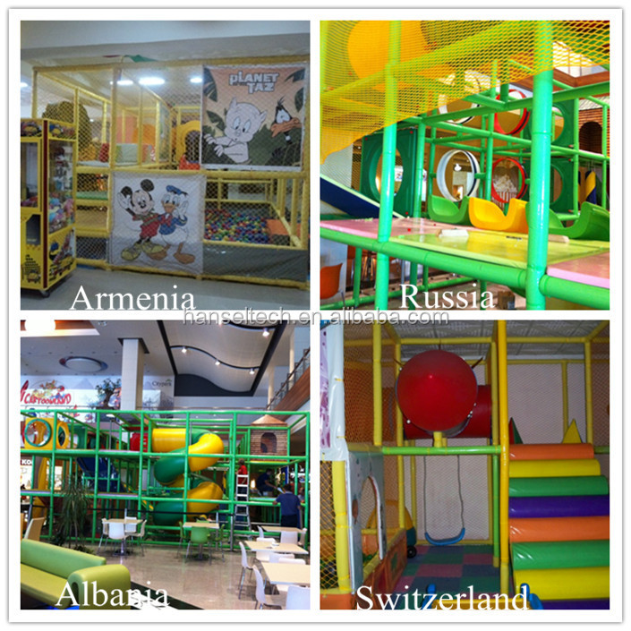 Hansel kid play zone kleine indoor jungle gym