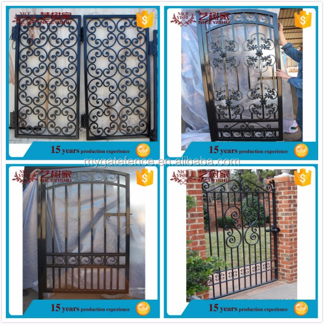 Gate Grill Iron Grill: Wrought Iron Grill Gate Door Models/house Latest Main Gate