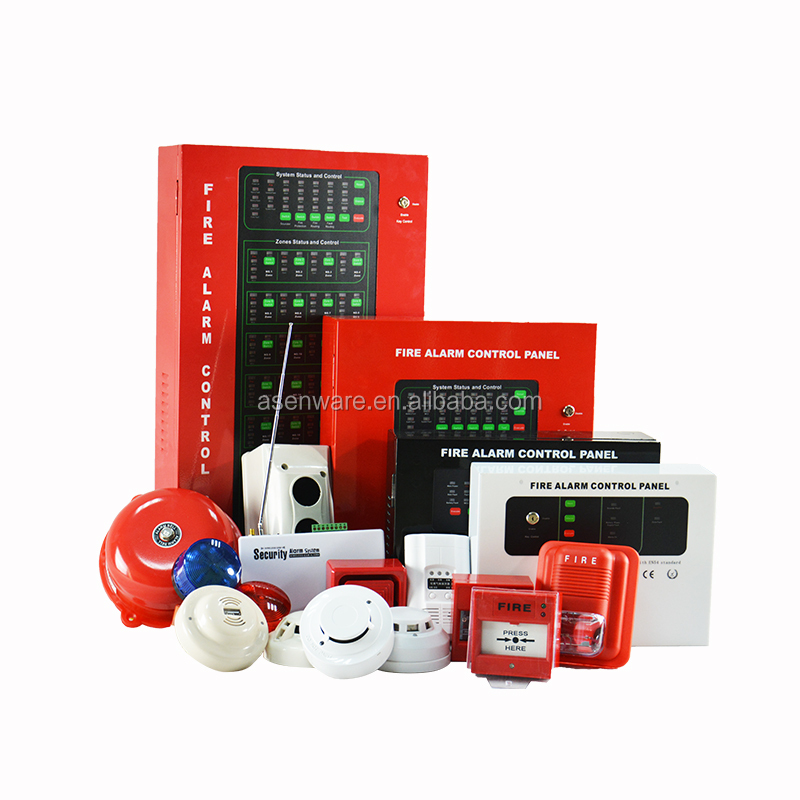 1 8 10 12 16 Zone Conventional Fire Alarm Control Panel